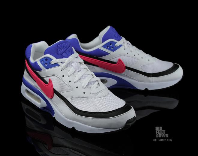 609b64acc7ed Nike Air Max BW White Pink Blue - Sneakers   Street Culture depuis 2005