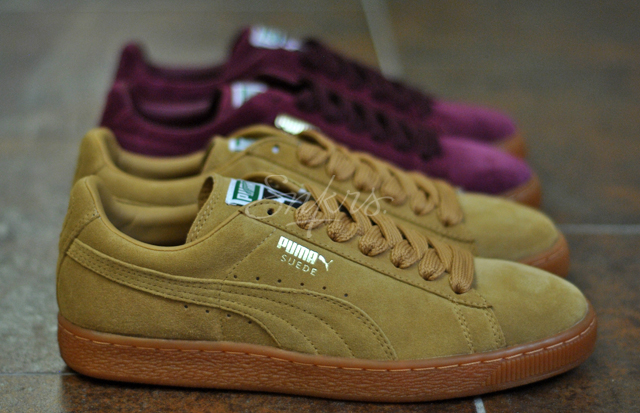 puma suede semelle gomme