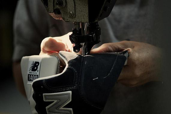 New Balance 1400 J.CREW – Processus de fabrication  65514e016d