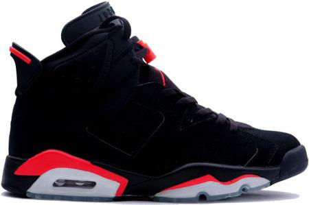 air jordan 6 retro black infrared