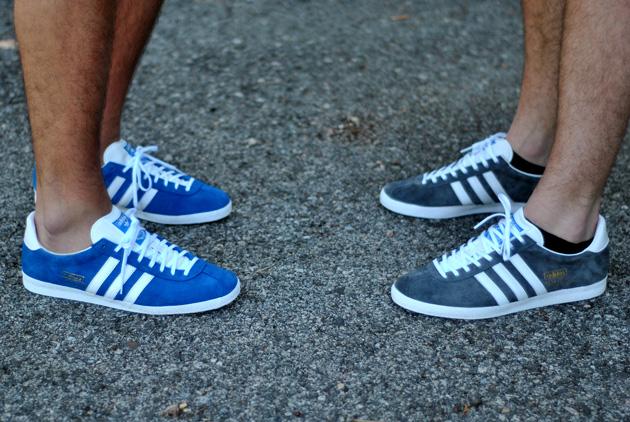 Gazelle Adidas Bleu