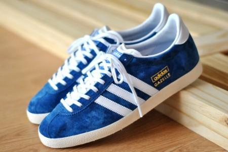 Adidas Gazelle Bleu Marine Paillette