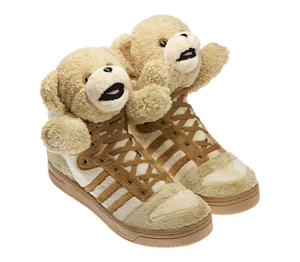 Adidas Jeremy Scott Bear Noir