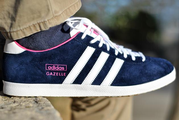 adidas gazelle bleu marine rose adidas gazelle bleu et rose femme