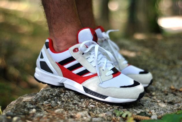 Adidas Torsion france rouge