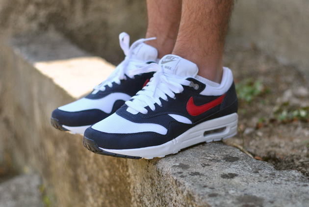 air max 1 blanc et rouge