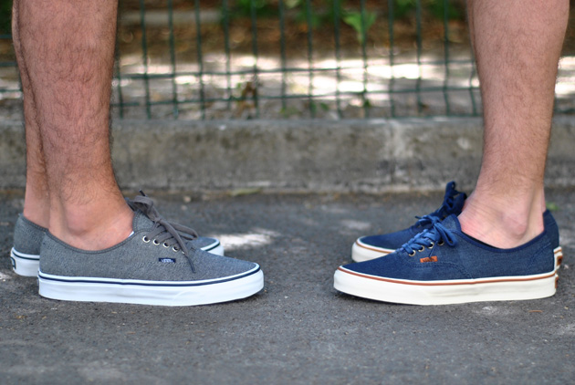 vans authentic bleu navy