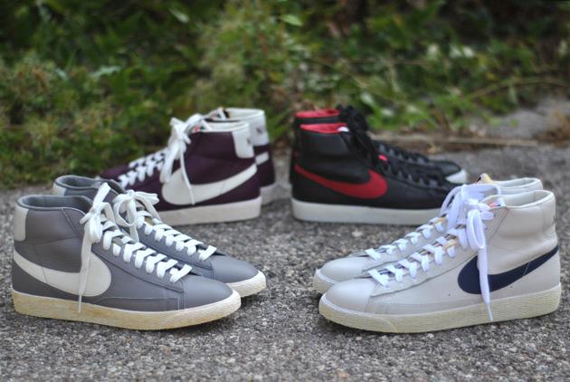 salomon shogun 2011 - Nike Blazer Vintage Cuir - Automne 2012 | Sneakers.fr