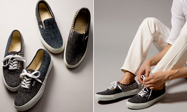Vans x Harris Tweed pour Beauty Youth  6486dc26f6