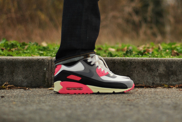 low priced 8fb92 24e1d ... nike air max 90 infrared vintage og size 6 .