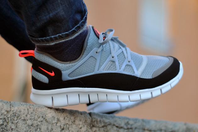 Nike Free Huarache Light Gris Noir