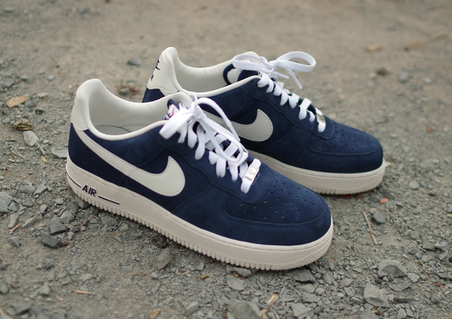 nike air force 1 bleu marine daim