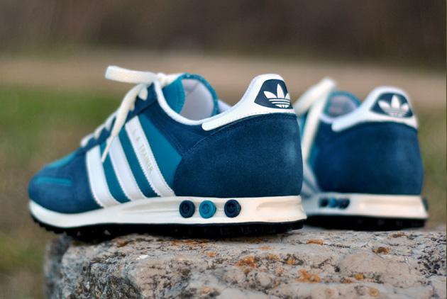 Adidas La Trainer Noir Bleu