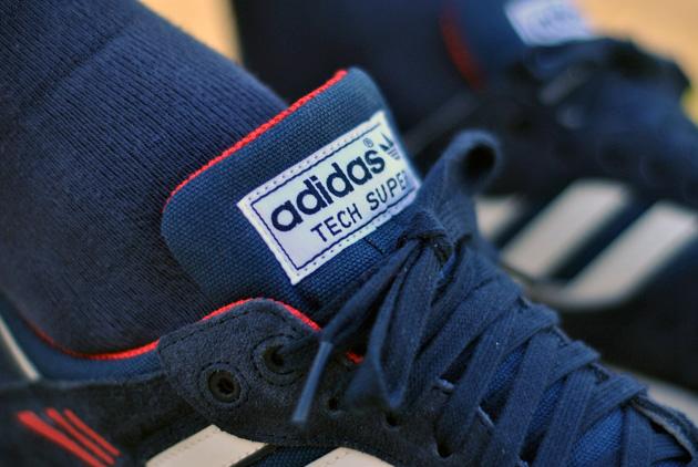 adidas super tech bleu
