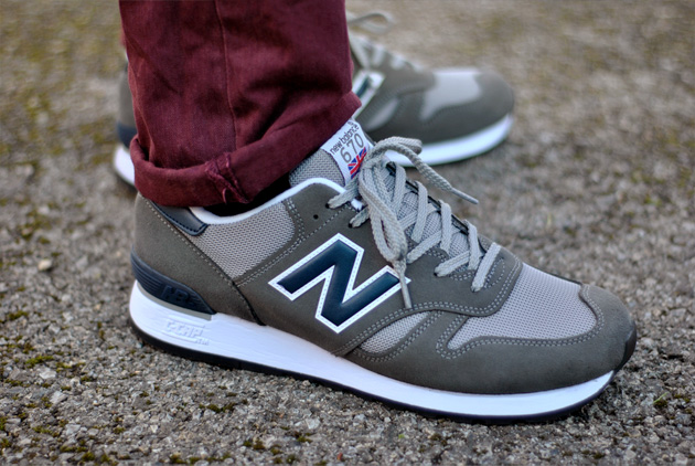 New Balance 670 Bordeaux