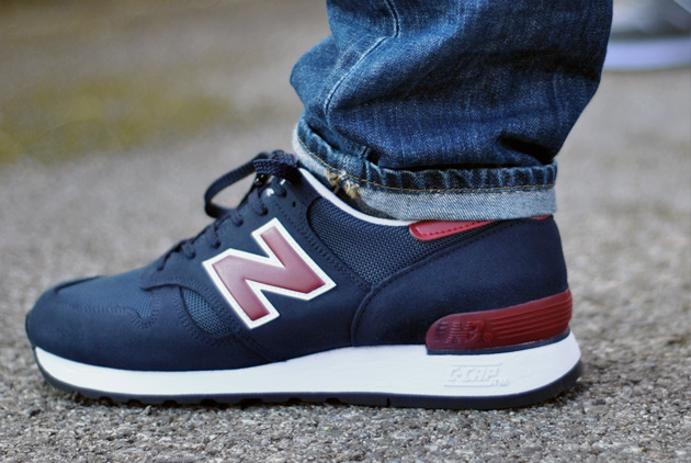 new balance blauw bordeaux