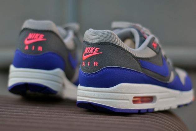 Nike Air Max 1 Gris Bleu Rose
