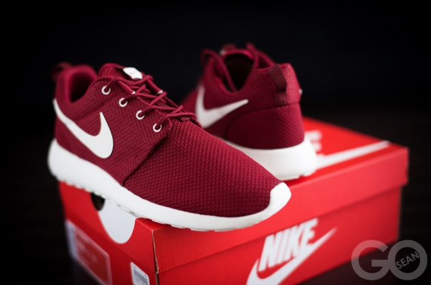 get cheap 4e129 11585 Nike Roshe Run Bordeaux Buy