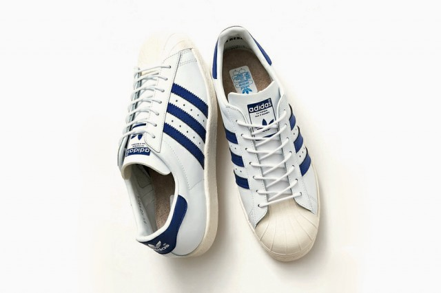 adidas Superstar 80s Navy par BEAUTY&YOUTH