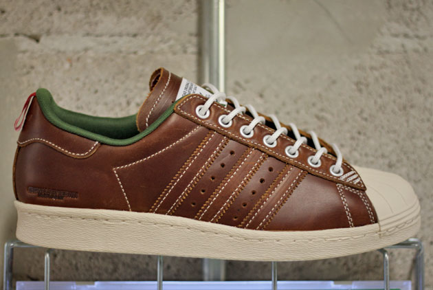 adidas superstar homme marron