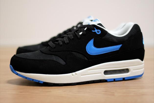 air max 1 noir bleu