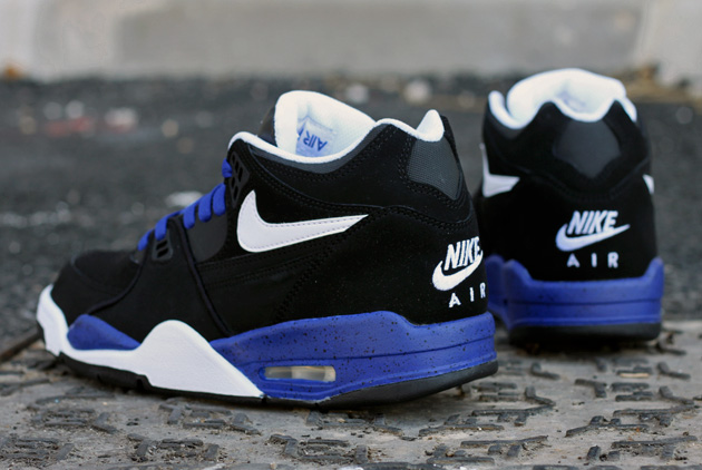 nike air flight bleu