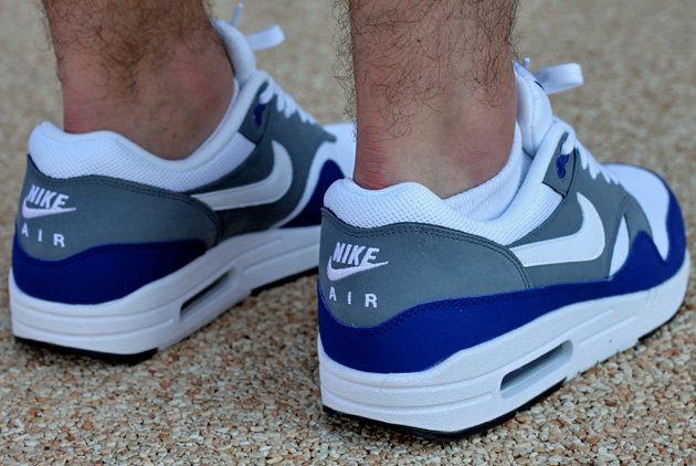 air max one bleu blanc