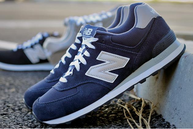 new balance 574 noir bleu