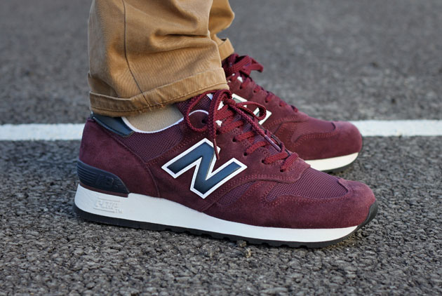New Balance 670 Bleu Rouge