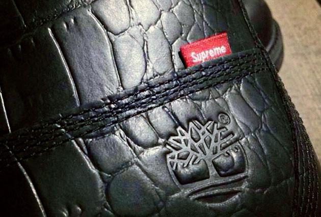 Timberland Boots par Supreme – Automne Hiver 2013   Sneakers e58785076e03