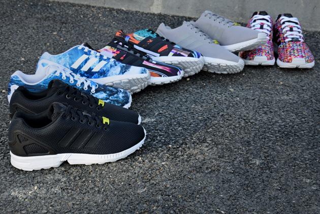 les adidas zx flux