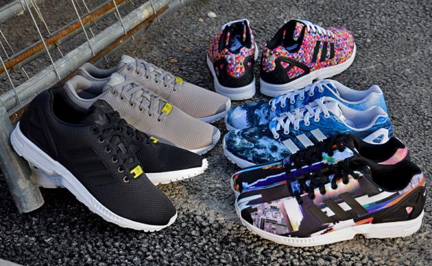 adidas zx flux femme arlequin