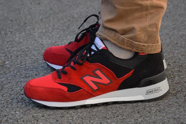 new balance m577 rouge