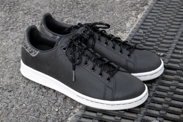 adidas stan smith cuir noir