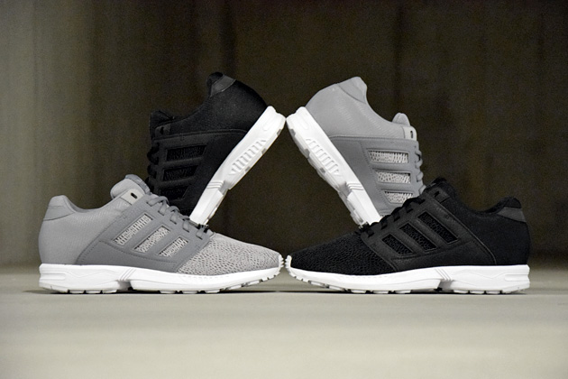 adidas zx flux grise et noir