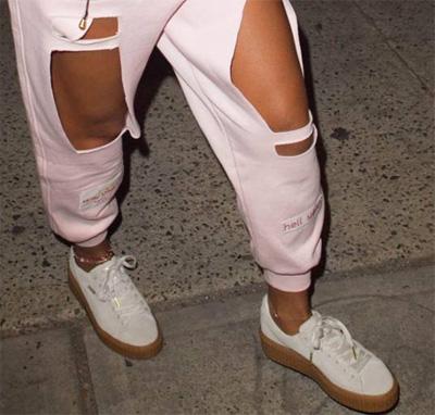Puma Rihanna Rose Et Noir