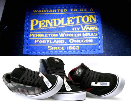 Vans pendleton