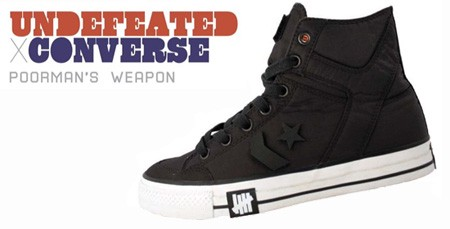 Converse Weapon x Undefeated