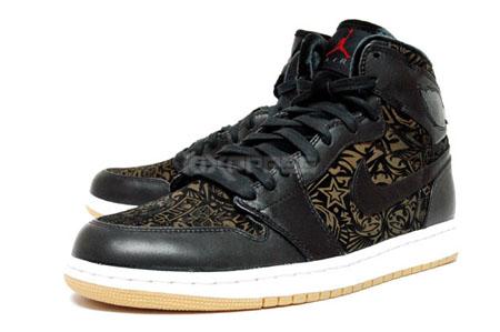 Air Jordan I Black