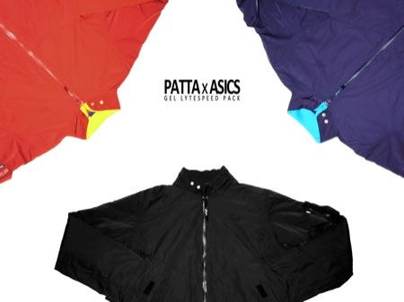 Patta x Asics Gel Lyte Speed Pack by Eric Elms, Delta