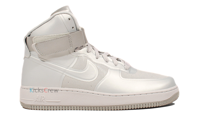 nike air force 1 hi hyperfuse grise sneakers. Black Bedroom Furniture Sets. Home Design Ideas