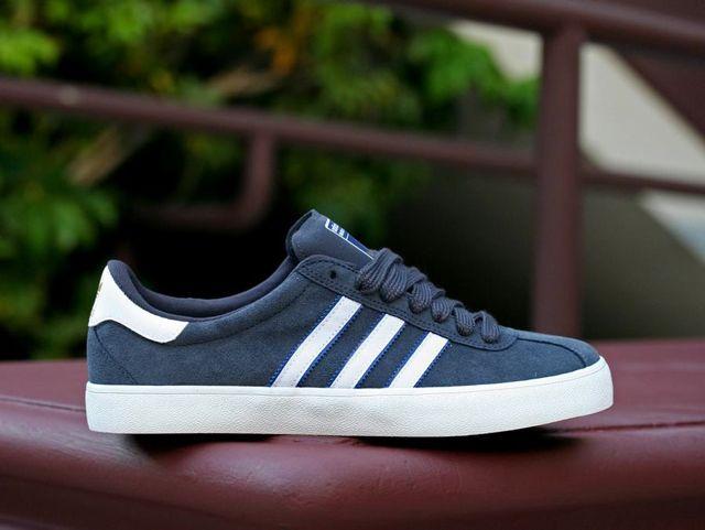 adidas sneakers bleu