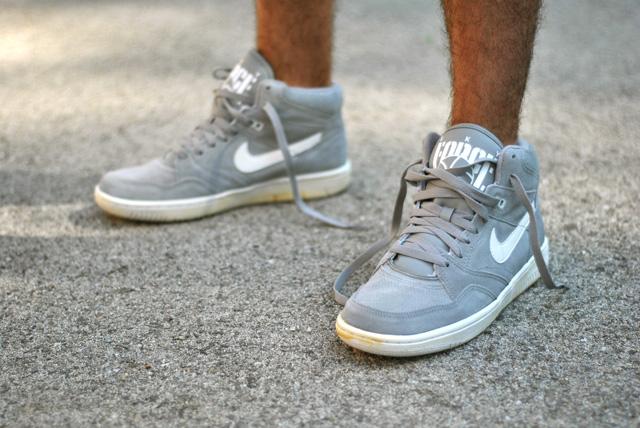 Reproducir mentiroso Dentro  Nike Sky Force 88 Mid Vintage Gris - Sneakers.fr