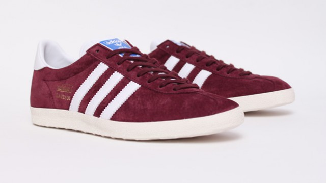 Basket Adidas Gazelle Og Bordeaux