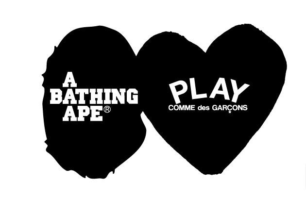 Bape x Play Comme des Garçons
