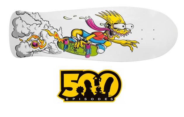 Bart Slasher Skateboard Par Santa Cruz Sneakers Fr