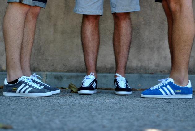 Gazelle Adidas Bleu Clair