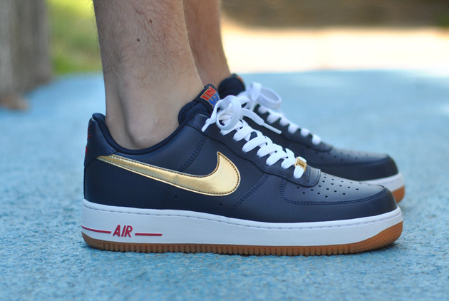 nouveau concept fe4fb 26e08 Nike Air Force 1 Olympic USA - Sneakers.fr