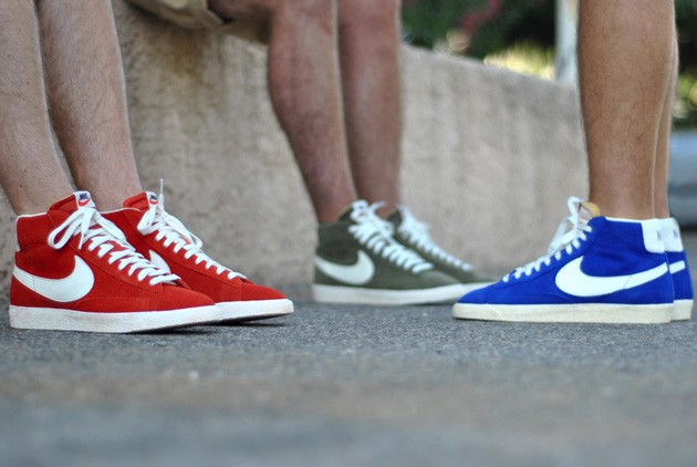 good texture innovative design later Nike Blazer Vintage Mid Suede - Disponible - Sneakers.fr