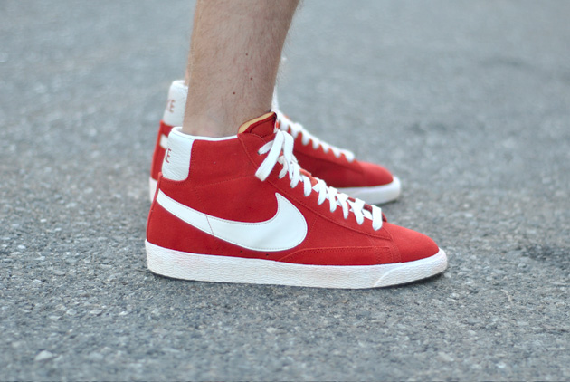 nike blazer rouge bordeaux